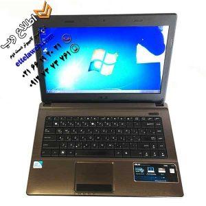 لپ تاپ دست دوم ایسوس Asus X44H با پردازنده Pentium B950
