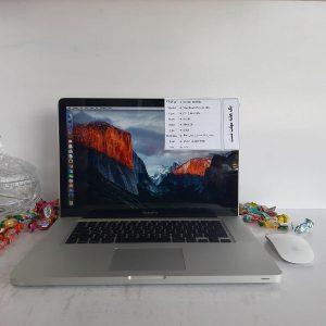 لپ تاپ دست دوم اپل Apple MacBook Pro A1286 با پردازنده i7