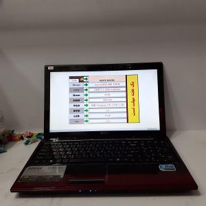 لپ تاپ دست دوم ام اس ای Msi CR650-MS با پردازنده Amd