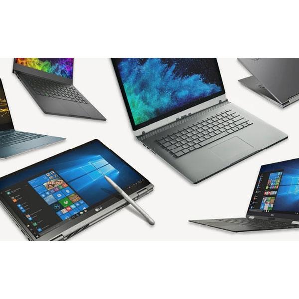قیمت دسته بندی انواع لپ تاپ ها