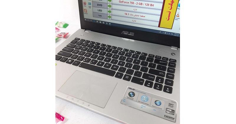 لپ تاپ Asus N46 JV