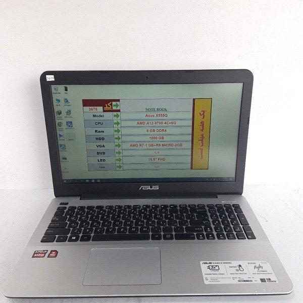 قیمت لپ تاپ دستدوم Asus X555Q